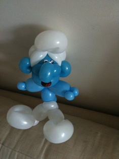 balloon smurf