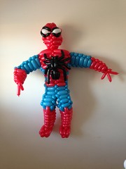 balloon spiderman