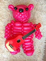 teddy bear ukulele