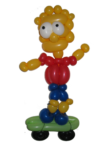 balloon bart simpson