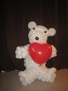 balloon bear heart