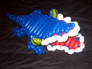 balloon crocodile