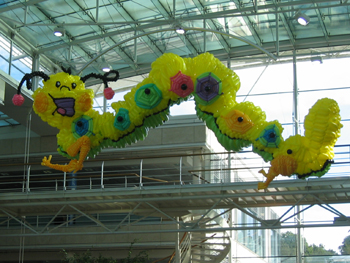 balloon caterpillar