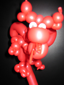 balloon chinese dragon