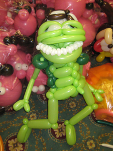 balloon crazy frog
