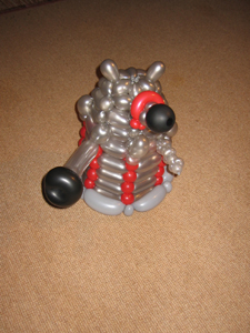 balloon dalek