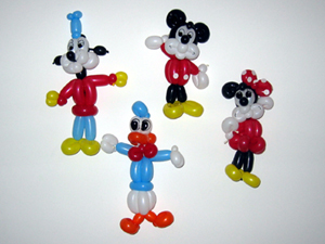 balloon cartoon characters