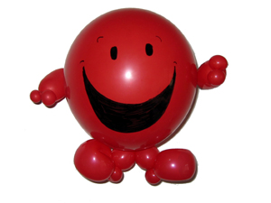balloon mr happy