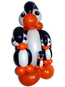 balloon penguins