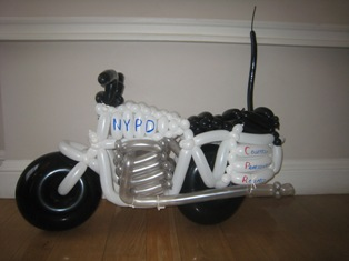 balloon police bike