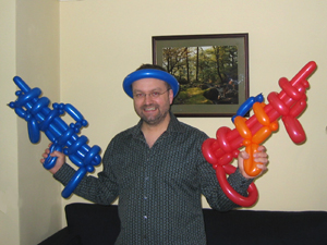 balloon machine guns