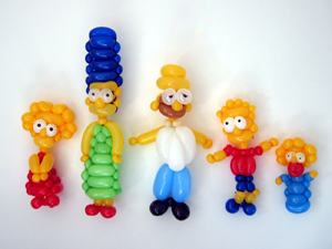 balloon simpsons
