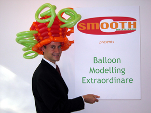 balloon spiral hat