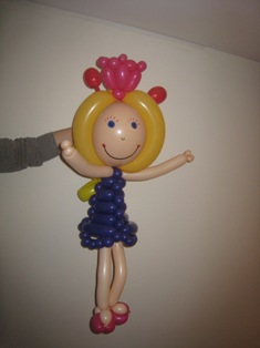 balloon doll