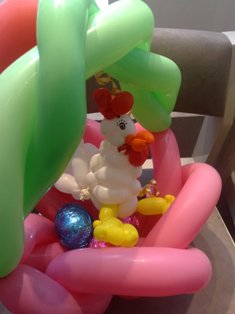 balloon chicken