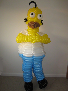 balloon simpsons homer