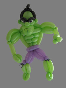 balloon incredible hulk