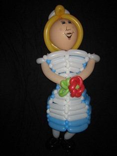 balloon alice in wonderland