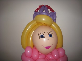 balloon princess