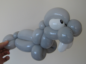 balloon walrus